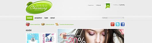 Profesionální internetový obchod s mnoha funkcemi