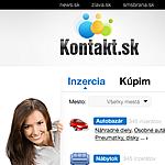 Inzertní server: kontakt.sk