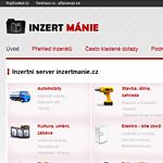 Inzertní server: inzertmanie.cz