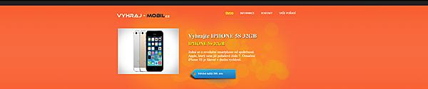 SMS soutěže Vyhraj mobil